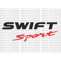 Suzuki swift sport logo stickers / decal