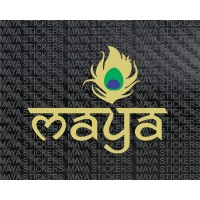 Maya Stickers logo decal / sticker for cars & laptop