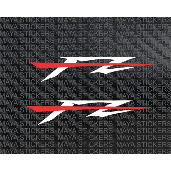 Yamaha FZ logo stickers and decal for all version of Yamaha FZ