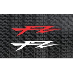 FZ logo stickers for Yamaha FZ, FZS and helmets.