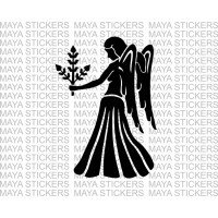 Virgo Astrological sign stickers