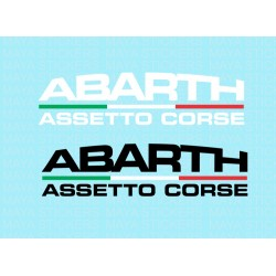 Abarth Assetto Corse logo sticker