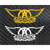 Aerosmith logo decal stickers in custom colors