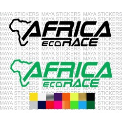 Africa Eco Race logo sticker for cars, motorcycles, laptops