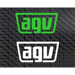 AGV simple logo decal sticker