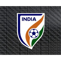 AIFF Indian Football federation logo stickers