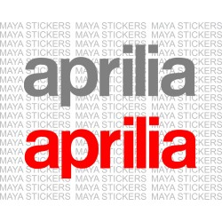 Aprilia logo stickers (Pair of 2 )
