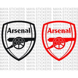Arsenal FC logo sticker for cars, bikes, laptop