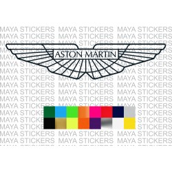 Aston martin logo sticker for cars, laptops