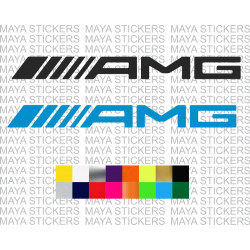 AMG logo stickers for Mercedes Benz