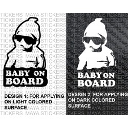 Baby on Board Carlos Hangover funny sticker