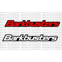 Barkbusters logo stickers (dual color)