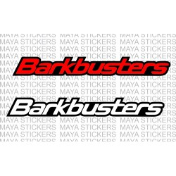 Barkbusters logo stickers (dual color) for handguards