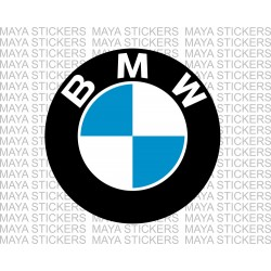 BMW logo sticker for bikes and cars