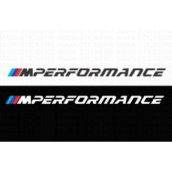 BMW M performance logo decal stickers