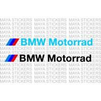 BMW motorrad logo decal stickers ( Pair of 2 )