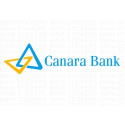 Canara Bank logo stickers