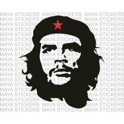 Che Guevara stickers / decals for cars, bikes, laptops