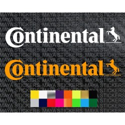 Continental tires logo stickers for cars and motorcycles