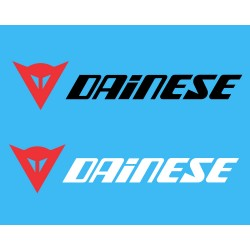Dainese logo sticker for Bikes, cars, helmets