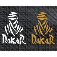 Dakar Rally logo sticker ( Pair of 2 )