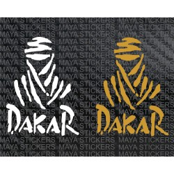 Dakar Rally logo sticker for cars, bikes, laptops
