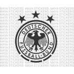 Deutscher Fussball-Bund Germany national football team logo decal