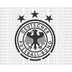 Deutscher Fussball-Bund Germany national football team logo decal