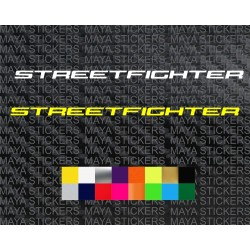 Ducati streetfighter logo sticker for motorcycles and helmets