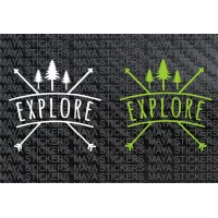 Explore decal sticker for cars, bikes, laptops, suvs