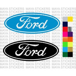 Ford logo stickers for cars