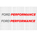 Ford performance logo stickers for Cars