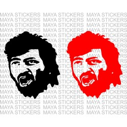 Gabbar singh sticker for Cars, Bikes, Laptop