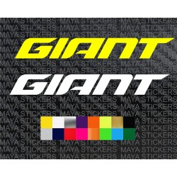 Giant bicycles new logo decal stickers