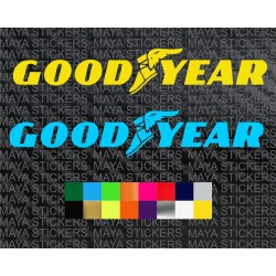 Goodyear tyres logo sticker for cars