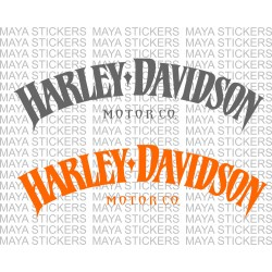 Harley Davidson Motor Co. decal stickers