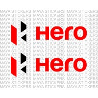 Hero Moto Corp logo sticker