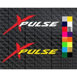 Hero Xpulse logo sticker for bikes and helmets