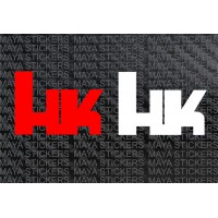 HK heckler and Koch logo decal stickers