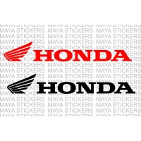 Honda two wheelers full logo sticker