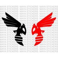 Honda Hornet insect logo decal sticker