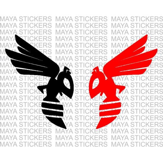 Honda Hornet Bee Logo Decal Stickers