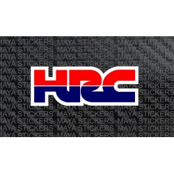 Honda Racing HRC logo stickers for bikes, mobiles, laptops, cars