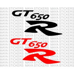 Hyosung GT650R logo stickers (Pair of 2 )