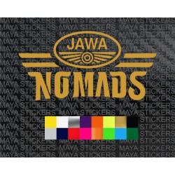 Jawa Nomads logo sticker for all Jawa Motorcycles