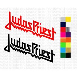 Judas priest logo sticker for cars, bikes, laptops