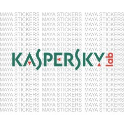 Kaspersky Lab logo decal sticker.