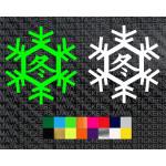 kawasaki Ninja winter test edition logo stickers for motorcycles and helmets