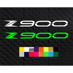 Kawasaki Z900 logo decal sticker for bikes and helmets