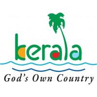 Kerala Tourism - God's own country logo sticker